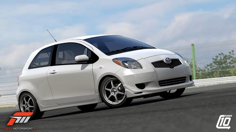 Forza 3 Screens Make Even A Toyota Yaris Look Good