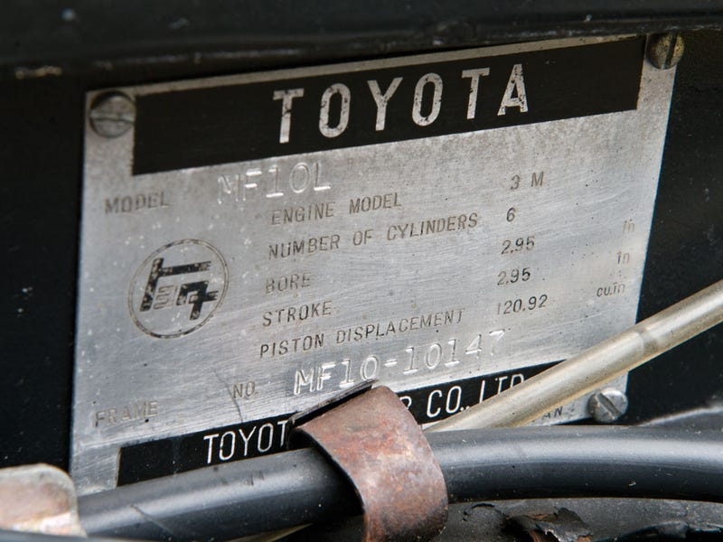 This $1.2 Million Toyota Nearly Tripled In Value In Three Years