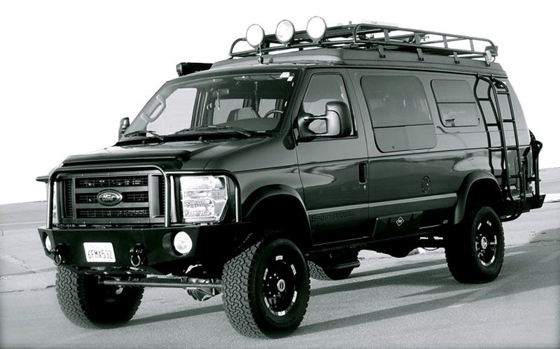 Irrationally Awesome: Offroad Vans