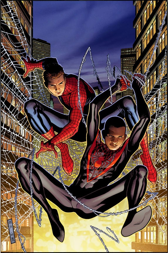 In June, Ultimate Spider-Man will meet the plain old Amazing Spider-Man
