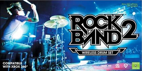 Rock Band 2 Drums Will B Wireless 2