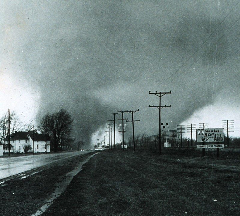 How Did The Rare Twin Tornadoes in Nebraska Form?
