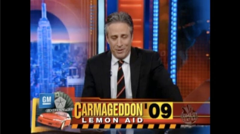Daily Show Takes On Carpocalypse, Uses Silly Made-Up Word