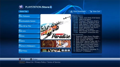 Burnout Paradise On PSN Store Thursday