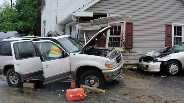 House Hit By Cars Three Times In Six Months