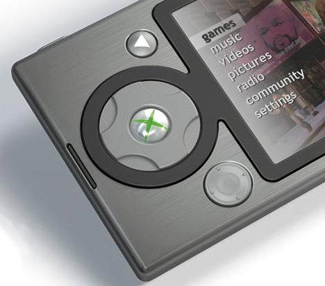 Portable XBox 360/Zune Phone Fantasy is Exactly What Microsoft Should Make