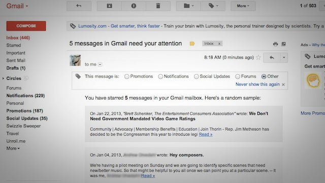 Use a Google Script to Automatically Get Reminders to Follow Up On Starred Emails in Gmail