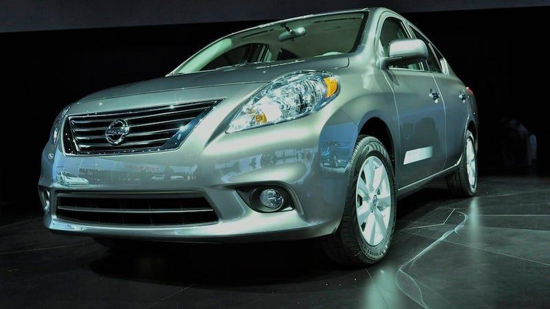 2012 Nissan Versa arrives for ten bucks less than $11,000