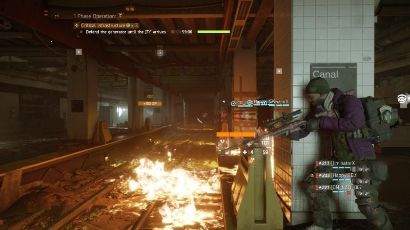 The Division's Rocky Road