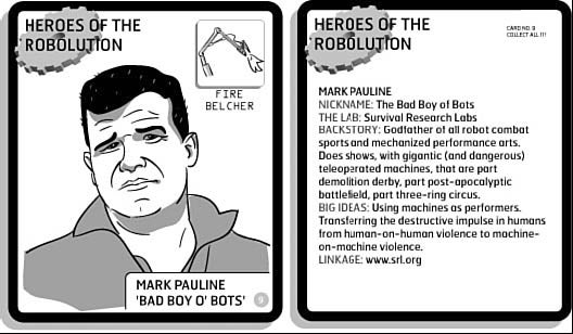 Roboticist Trading Cards Sadly Lack Microchip Gum