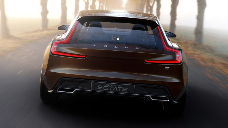The Volvo Concept Estate Is An Unfathomably Gorgeous Shooting Brake
