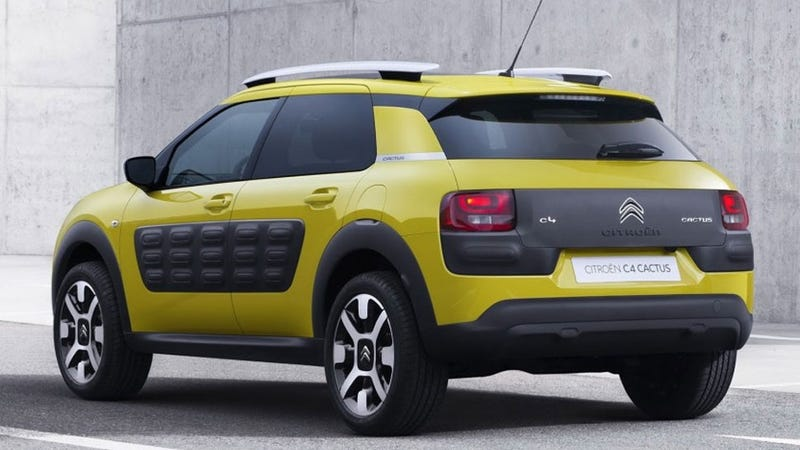Weird New Citroën C4 Cactus Has Air-Filled Shock-Absorbing Body Panels