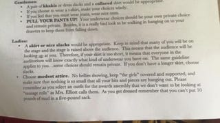 "Teens Outraged at ""No Sausage Rolls"" Dress Code for Graduation"