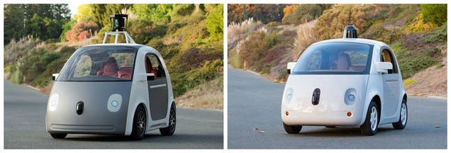 Here's Google's First Fully Functional Prototype of a Self-Driving Car
