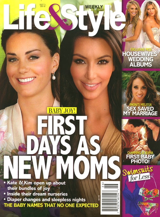 This Week in Tabloids: Kanye Didn't Give Kim a Blingy Push Present
