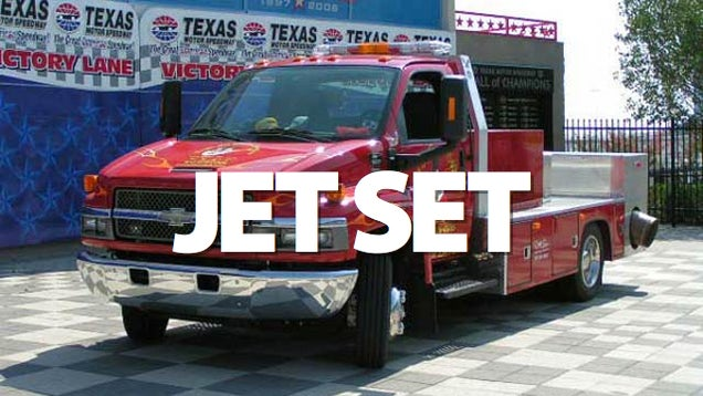 The Jet Engine Truck That Exploded at Daytona