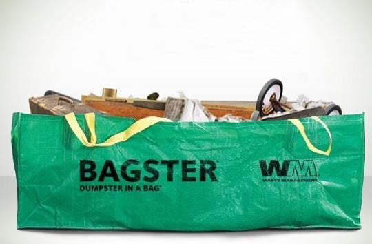 Bagster Handles Your Bulky Trash Cheaper and Easier Than a Dumpster