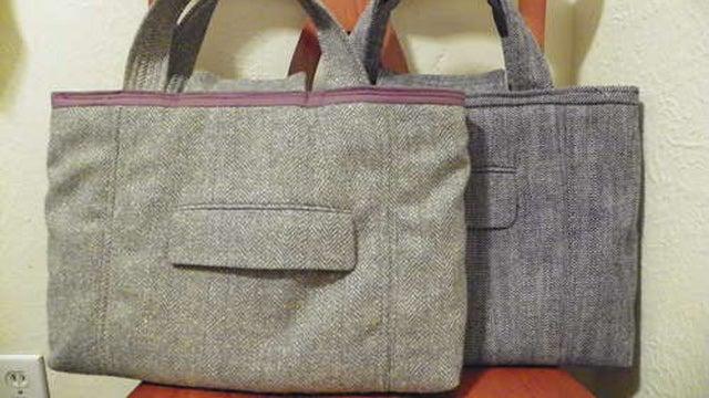 Repurpose a Suit Coat into a Laptop Bag