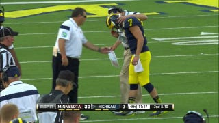 Brady Hoke's Dangerous Incompetence So Bad ESPN Announcers Denounce It