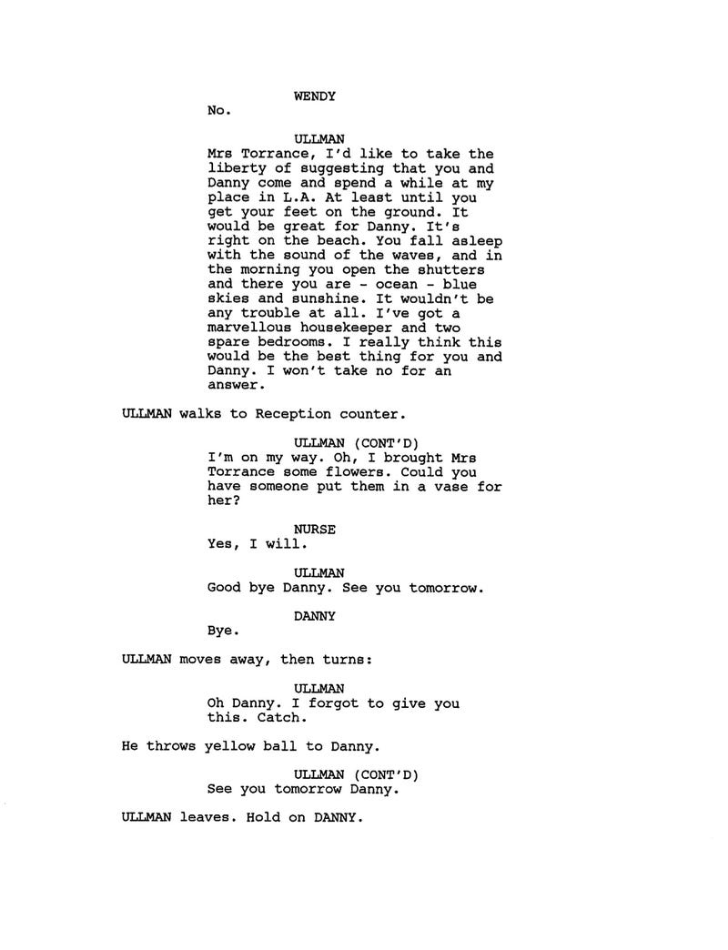 Script pages from The Shining reveal the ending Kubrick had destroyed