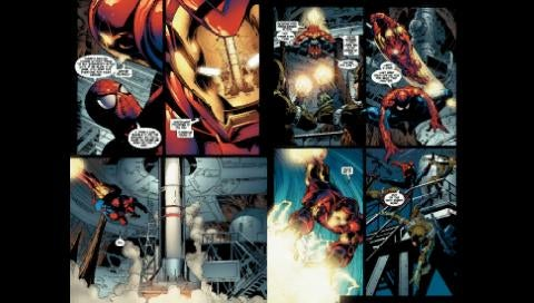 What Marvel Comics Will Look Like On PSP