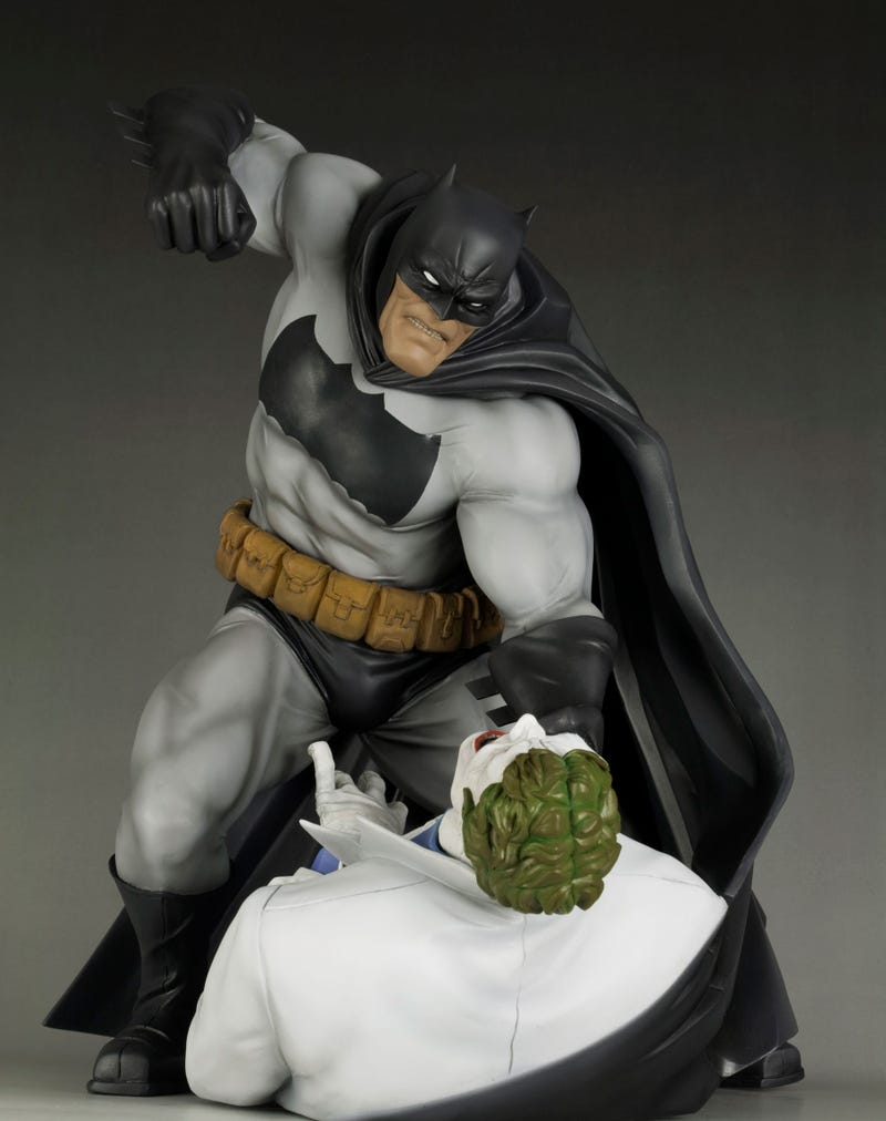 One of Batman's Greatest Ever Fights, Immortalised