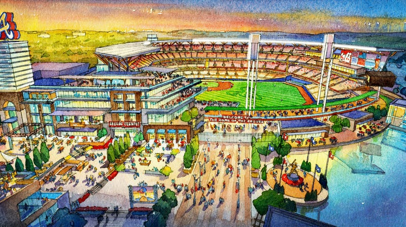 Here's What The Braves' New Ballpark Could Look Like