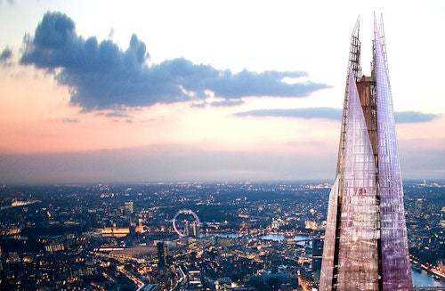Beautiful Glass Shard Spire Set to Dominate London Skyline