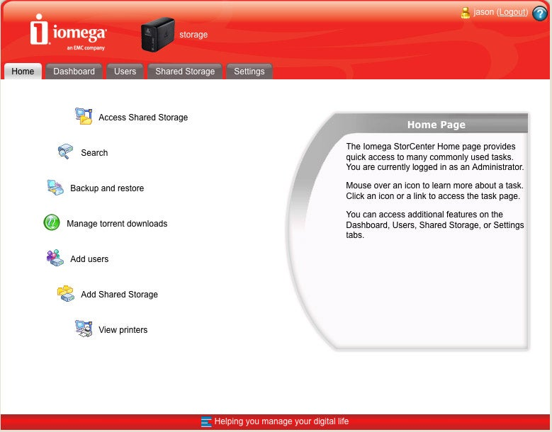 Iomega Ix2-200 NAS Review: It Does All This?