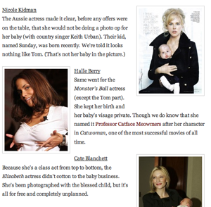 The Few Celebrities Who Wouldn't Sell Pictures of Their Kids