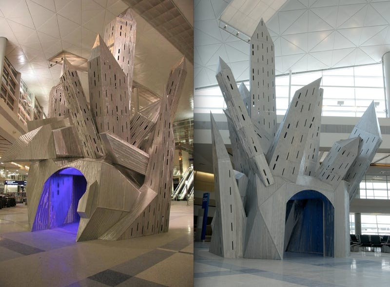 7 Pieces of Freaky Airport Art That Defy Explanation