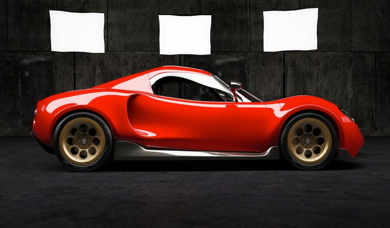 Would The Alfa Romeo 4C Look Better With A More Retro Design?