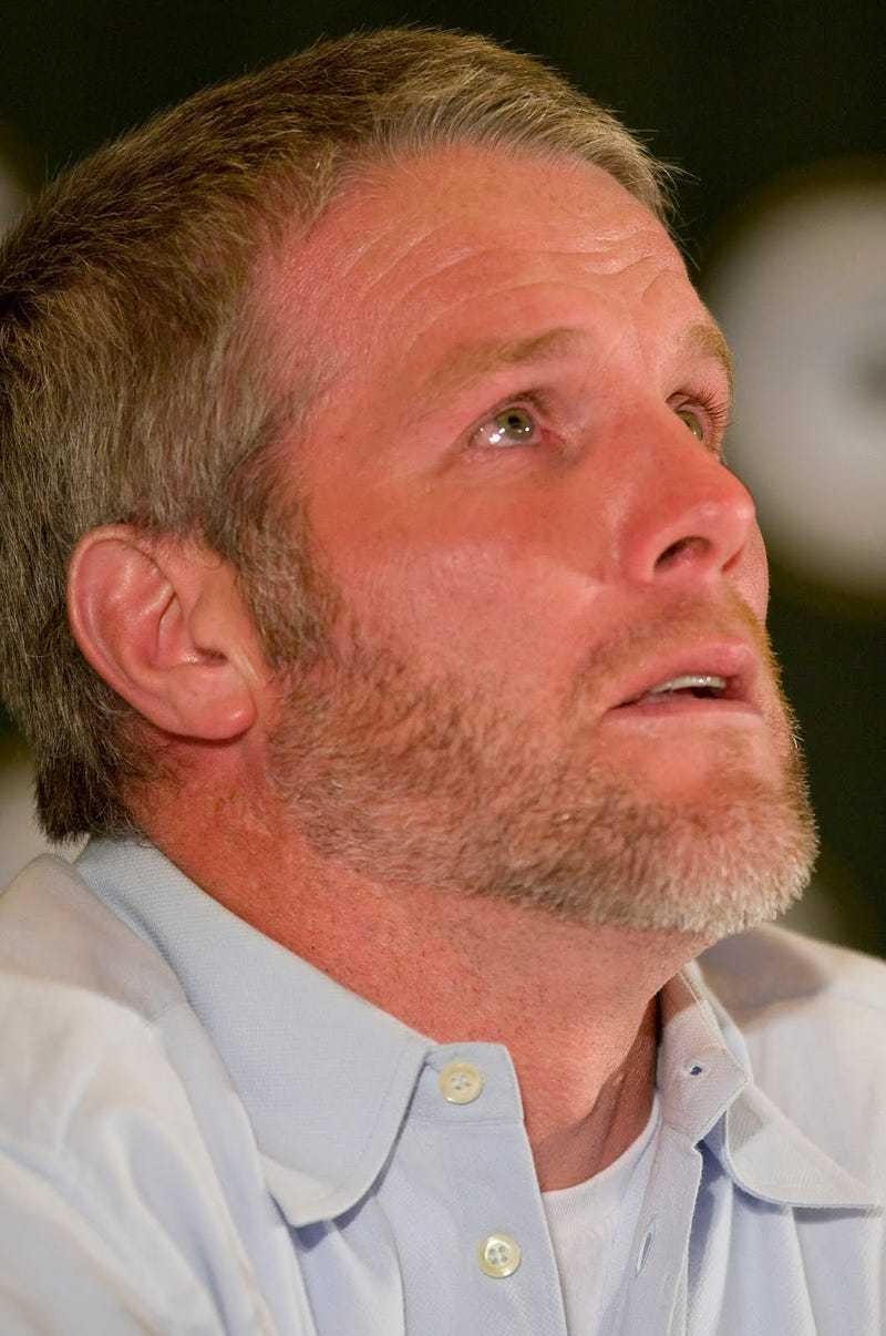 Watching The Super Bowl, Brett Favre Got A Little Antsy About His Retirement