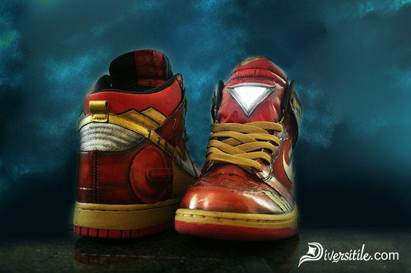 Iron Man Sneakers Will Light Up Your Life