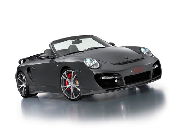 TechArt Drops The Top On 630 HP GTstreet Porsche 997 Turbo For Geneva