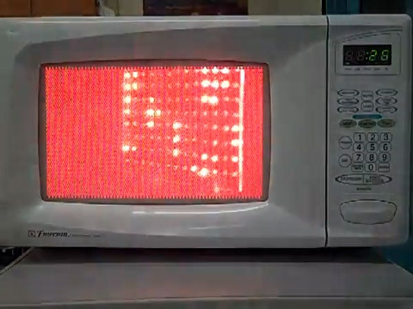 Watch The Microwaves Inside A Microwave