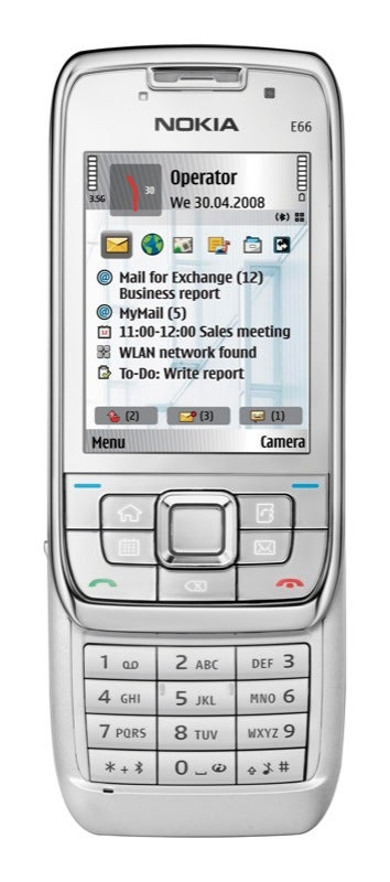 Nokia E71 and E66 Phones Stuffed with Two Cameras, Wi-Fi, GPS and More