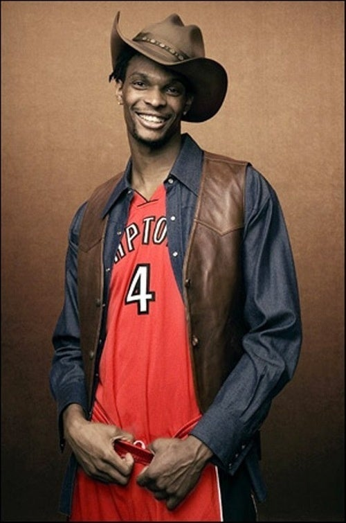 Chris Bosh's Groin Is Probably Sore Today