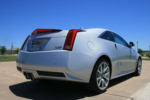 Cadillac CTS-V Coupe: Exterior Photos