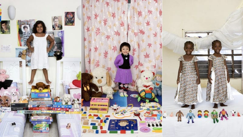 Kids From Around the World Pose With Their Most Prized Possessions