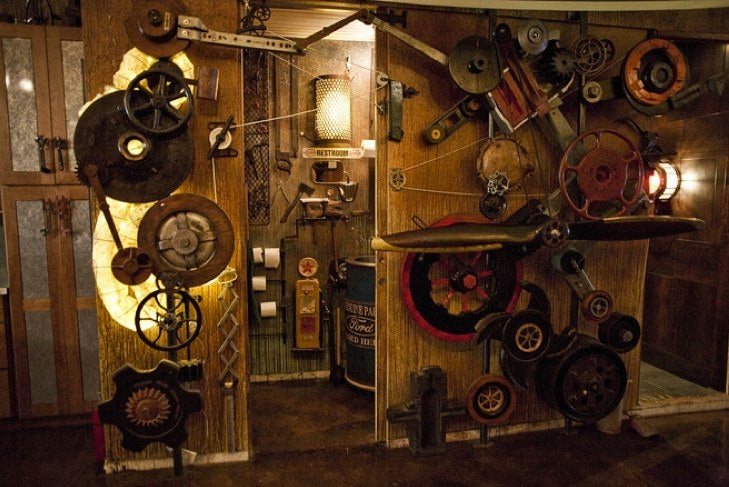 Become NYC's resident Jules Verne creepster in this $1.7 million steampunk pad