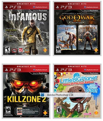 Ten New Titles Join PlayStation 3 Greatest Hits Library