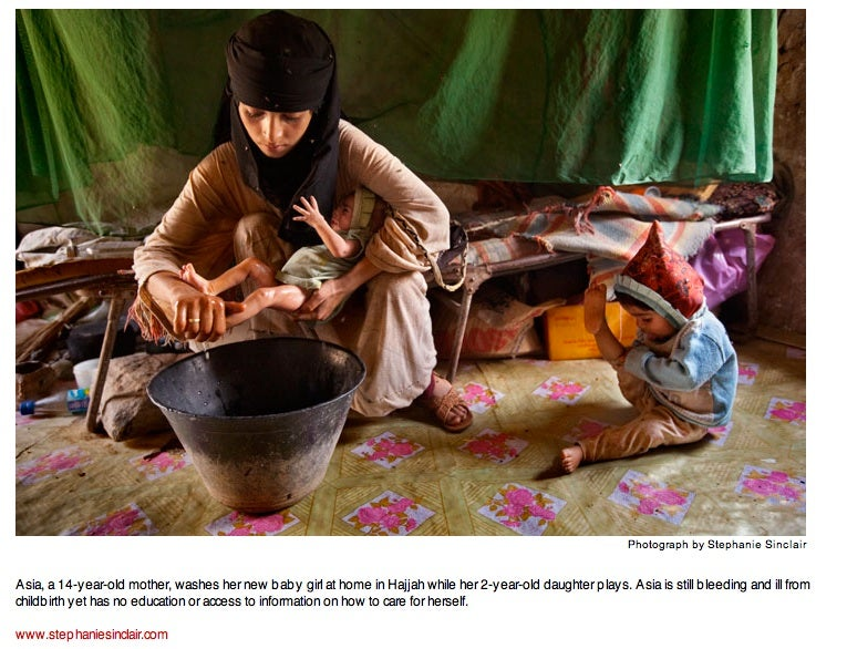 Child Brides, In Their Own Words