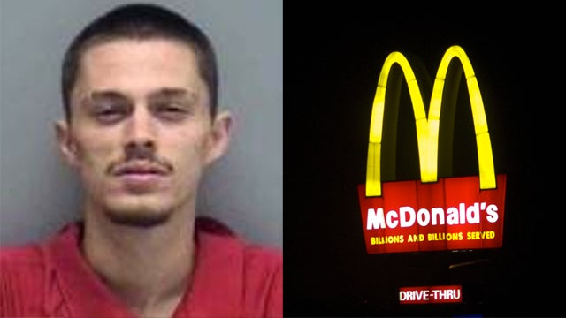 Man Arrested After Popping Zits at McDonald's