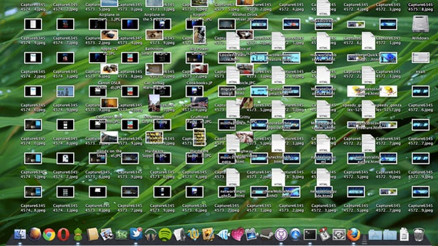 An Overly Cluttered Desktop Can Seriously Slow Down Your Mac—Clean it Up for a Noticeable Speed Boost