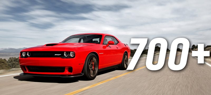 Holy Crap! The Dodge Challenger SRT Hellcat Has 707 Horsepower