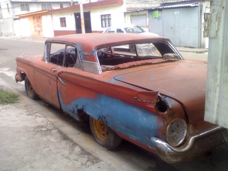 Mexico City 1959 Ford Galaxie Needs TLC