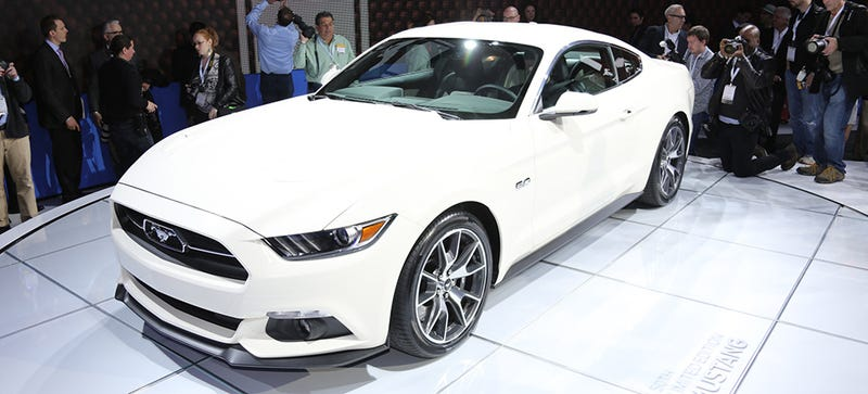 The Ford Mustang 50th Anniversary Is Exactly Not Like The Original