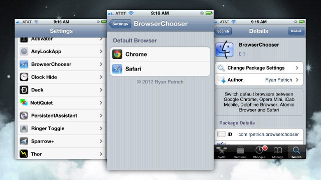 BrowserChooser Makes Chrome Your Default Browser on iPhone