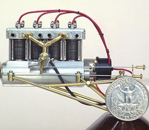 World's Smallest Four-Cylinder Engine